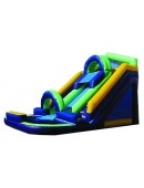 18' Drop Zone Slide (Wet)