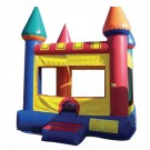 Primary Colors Castle Bounce House